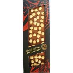 Exklusiv mléčná čokoláda s lískovými ořechy