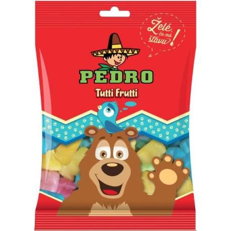 Pedro želé bonbony tutti frutti medvídek 80g