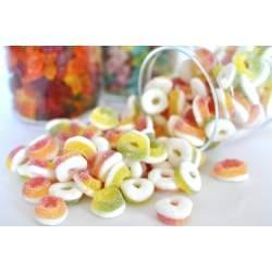 Želé ovocné oválky 1 Kg