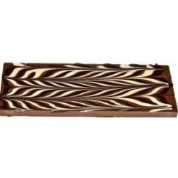 Exclusive čokoláda mléčná tříbarevná 120g
