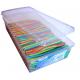 Pendreky candy hladké barevné 220 ks