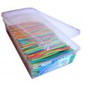 Pendreky candy hladké barevné 200 ks