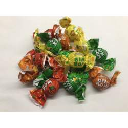 ovocné tvrdé bonbony 1 Kg