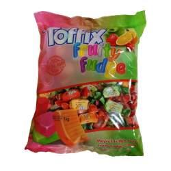 Toffix fruity fudge měkké bonbóny 1kg
