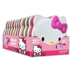 Hello Kitty Shaped Tins 100g 10 ks.