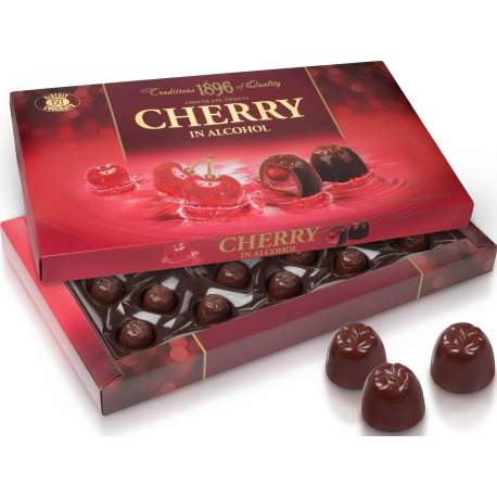 Cherry in alcohol 285g
