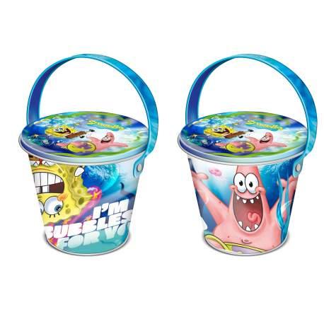 Sponge Bob plechový kbelík s želé 50g