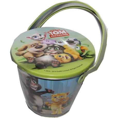Tom plechový kbelík s želé 50g
