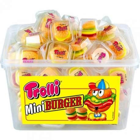 Trolli mini Burger 10g/60ks/