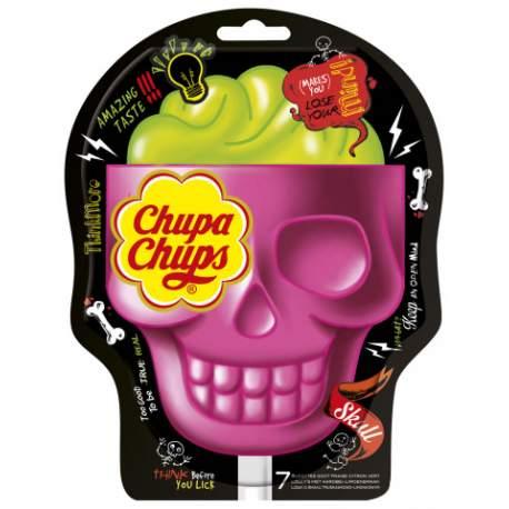 CHupa Chups Skull 7 pack 3D bag 105g