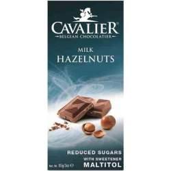 Cavalier milk hazelnuts čokoláda 85g