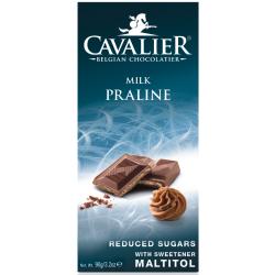 Cavalier milk praline čokoláda 90g