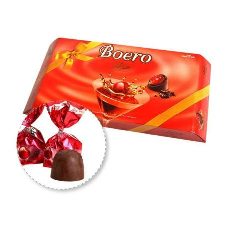 Laica Boero Třešně v hořké čokoládě 150g