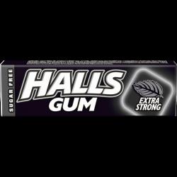 Halls EXTRA STRONG žvýkačky bez cukru 15x14g